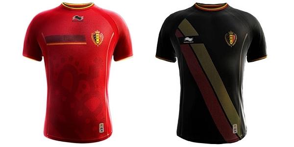 Belgien Trikot WM 2014