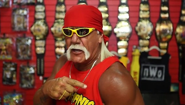 Hulk Hogan Kabinenansprache