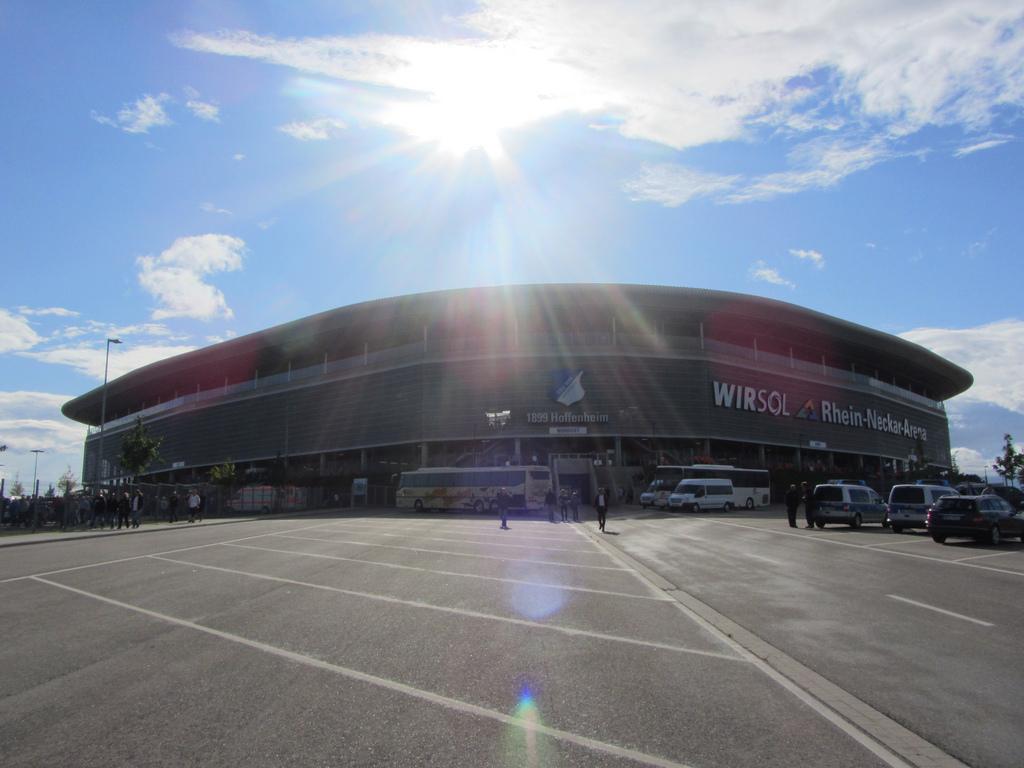 Stadion in Hoffenheim