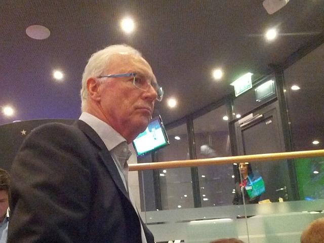 Stadionverbot für Franz Beckenbauer